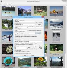 Thumbnail HTML export