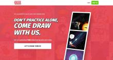 The Collaborative Online Drawing Game - Don't Practice Alone, Come Draw With Us.